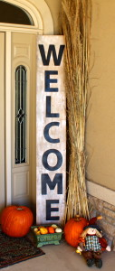 Big Ol' Porch Welcome Sign