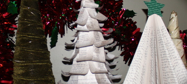 Paper Christmas Tree Decoration