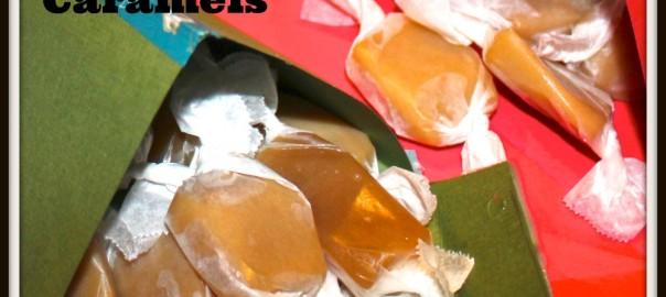 Microwave Sea Salt Caramels