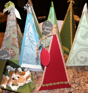 Paper Tree Gift Boxes