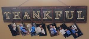 Wooden Thankful Wall Board