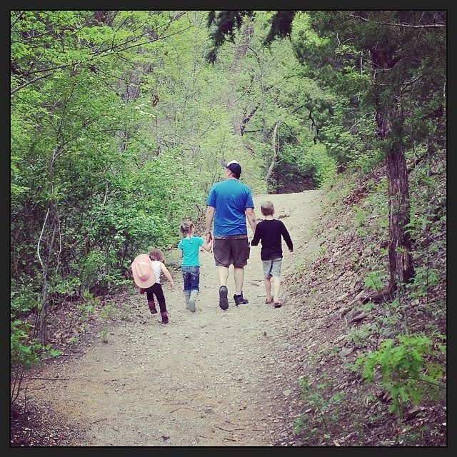 Turner Falls walk Easter2014