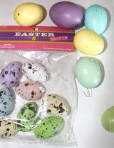 DIY Easy Burlap Easter Tree