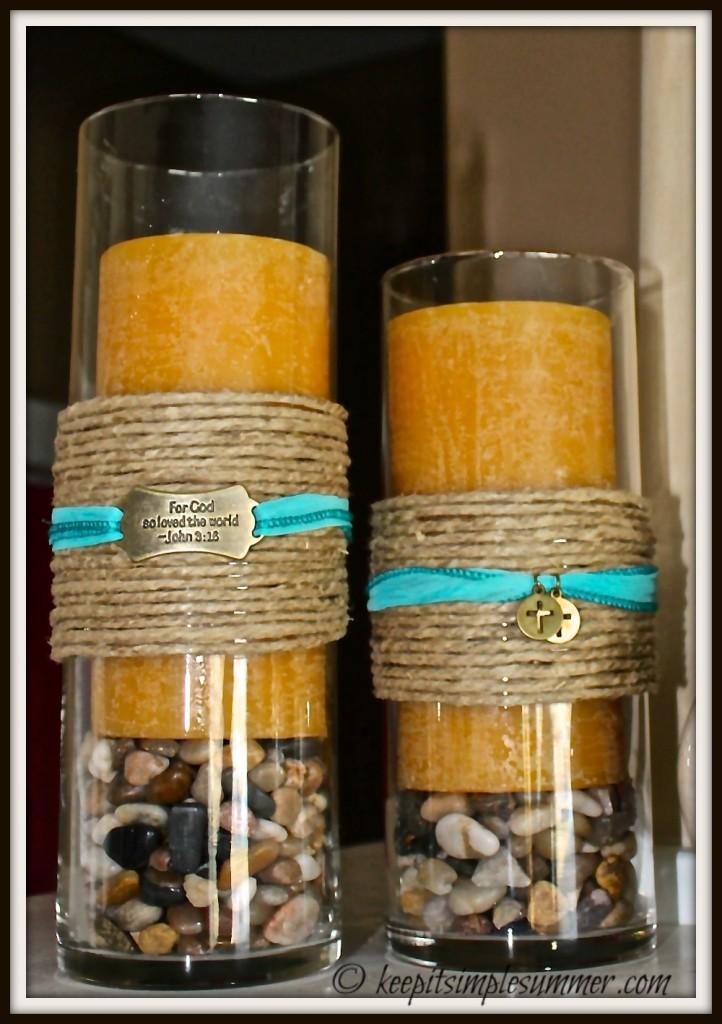 DIY Decorative Candle Holder