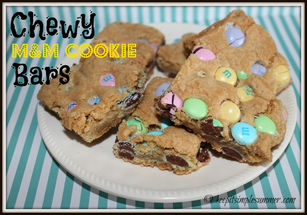 Chewy M&M Bars