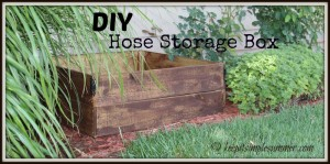 DIY Hose Storage Box